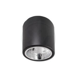 LED21 Podhledové bodové svítidlo přisazené 132x152mm - kruhové - černá matná + patice E27 V2821